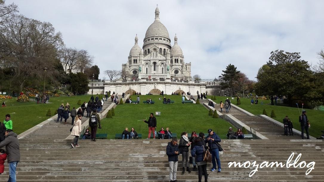 Paris - Basílica do Sacré Coeur, Montmartre
