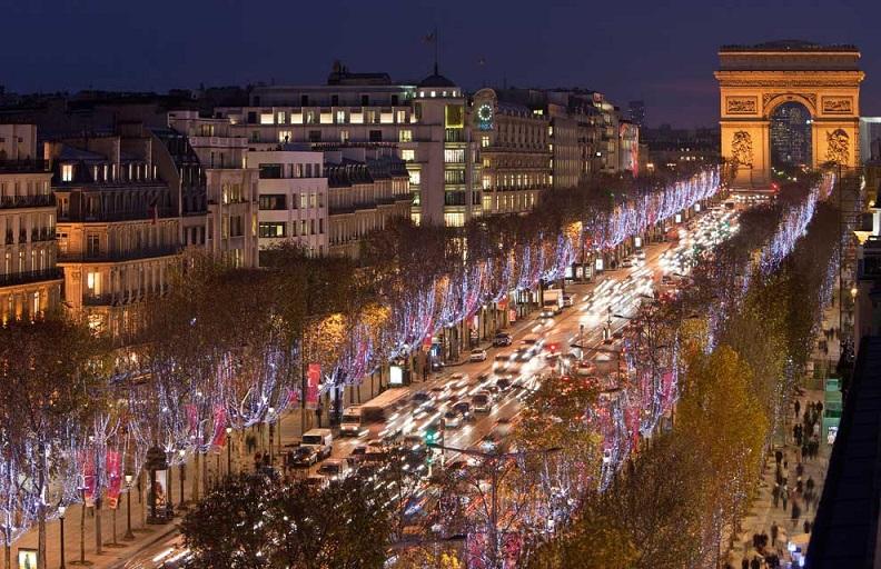Avenida Champs-Élysées  |  Champs-Élysées Avenue