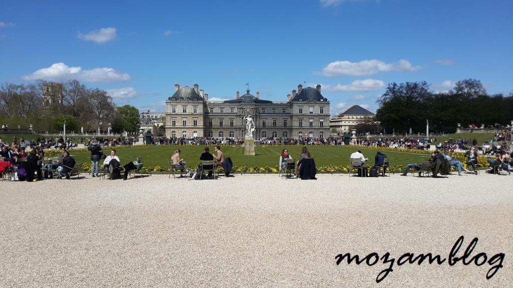 Jardim de Luxemburgo - Paris  |  Luxembourg Gardens - Paris
