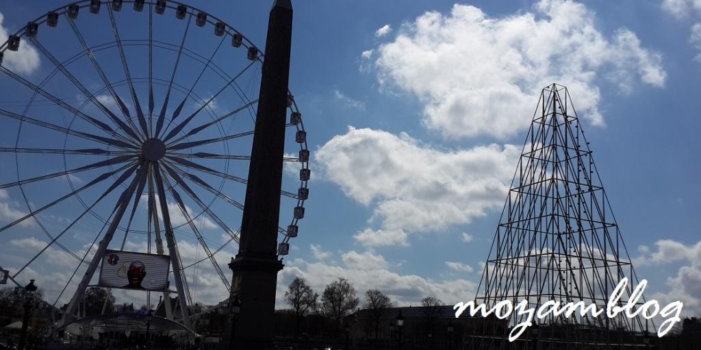 Paris - Roda Gigante da Place de la Concorde